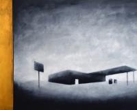 Places - oil on canvas - cm100x200 - 2017