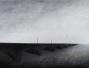 Invisible bridges - 2014 - oil on canvas -cm100x150