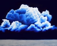 Clouds - VIII - oil on canvas - cm100x150 - 2018