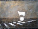Traces of memory - 2015 - oil on paper - cm50x70